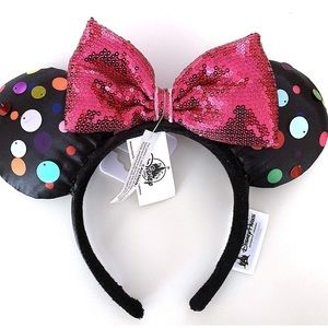 Disney parks Minnie mouse rock the dots ears